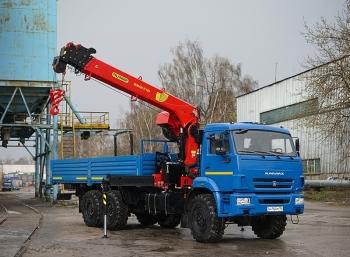 КАМАЗ 43118 с КМУ Инман ИТ-180