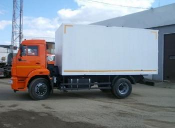 Изотермический фургон на шасси КАМАЗ 43253