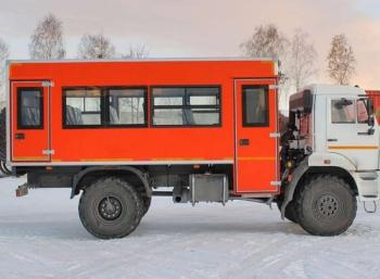 Автобус вахтовый, 22 места КАМАЗ 43502