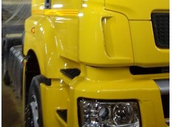 Покраска кабин Daimler
