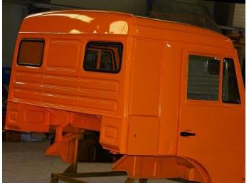 Покраска кабин КАМАЗ