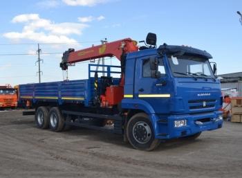 КАМАЗ 65117 с КМУ Инман ИТ 150