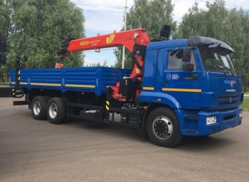 КАМАЗ 65117 с КМУ Инман ИТ 180