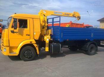 КАМАЗ 4308 с КМУ Soosan 334 std